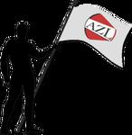 AZL flag holder Transparent